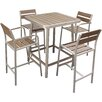 Brayden Studio Mattis 5 Piece Bar Set