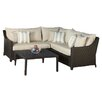 Brayden Studio Ahmad 4 Piece Deep Seating Group with Cushions