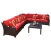 Brayden Studio Ahmad 6 Piece Deep Seating Group with Cushions