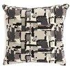 Brayden Studio Shuff Mosaic Print Throw Pillow (Set of 2)