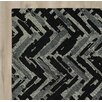 Brayden Studio Louane Hand-Tufted Black/Gray Area Rug