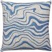 Brayden Studio East Drive Wave Throw Pillow