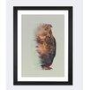 Brayden Studio Owl Lie Framed Graphic Art