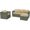 Brayden Studio Embree 4 Piece Sectionsl Seating Group with Cushions