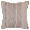 Wade Logan Marks Linen Throw Pillow