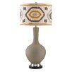 """Wade Logan Matte 34"""" H Table Lamp with Drum Shade"""