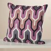 Wade Logan Chew Stoke Retro Modern Cotton Throw Pillow