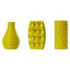 Wade Logan Nailsea Ceramic 3 Piece Vase Set