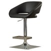 Wade Logan Enzo Adjustable Height Swivel Bar Stool