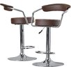 Wade Logan Compton Martin Adjustable Height Swivel Bar Stool (Set of 2)