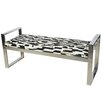Wade Logan Leo Upholstered Entryway Bench