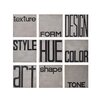 Wade Logan Elements of Design Photographic Print on Wrapped Canvas in Black and Gray