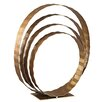 Wade Logan Concentric Rings Table Top Sculpture
