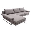 Wade Logan Cain Reversible Chaise Sectional