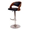 Corrigan Studio Garland Adjustable Height Swivel Bar Stool