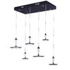 Langley Street Hilite 6 Light Pendant