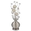 """Langley Street Lazelle Contemporary Floral 51"""" H Floor Lamp"""