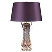 """Langley Street Vergato Free LED 24"""" H Table Lamp with Drum Shade"""
