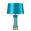 "Langley Street Vergato Free LED 24"" H Table Lamp with Drum Shade"