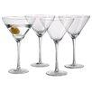 Langley Street Fayetteville 9 Oz. Stem Martini Glass (Set of 4)
