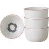 Salt & Pepper Surprise 4 Piece Porcelain Rice Bowl Set