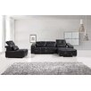 BestMasterFurniture 3 Piece Bonded Leather Living Room Set