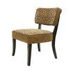 BestMasterFurniture Leopard Fabric Slipper Chair