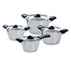 BK Cookware Classic 4-Piece Stainless Steel Cookware Set (Set of 4)