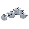 BK Cookware Conical Cool 4-Piece Stainless Steel Cookware Set (Set of 4)