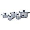 BK Cookware Karaat Plus 5 Piece Stainless Steel Cookware Set
