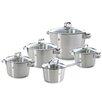 BK Cookware BV 5-tlg. Topf-Set Conical Glas