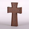 Glitz Home Rusty Marquee LED Lighted Cross Sign Battery Operated Wall Décor