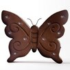 Glitz Home Marquee LED Lighted Butterfly Sign Wall Decor Battery Operated Wall Décor