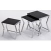 !nspire 3 Piece Nesting Table Set