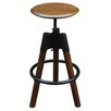 !nspire Maran Adjustable Height Swivel Bar Stool
