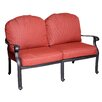 California Outdoor Designs Roma Deep Seating Loveseat with Cushion