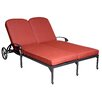 California Outdoor Designs Roma Double Chaise Lounge with Cushion