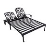 California Outdoor Designs Roma Double Chaise Lounge