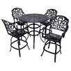 California Outdoor Designs Roma 5 Piece Bar Set