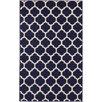 Unique Loom Trellis Navy Blue Area Rug