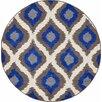 Unique Loom Trellis Blue/Gray Area Rug