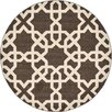Unique Loom Trellis Brown Area Rug