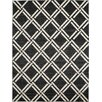 Unique Loom Trellis Black Area Rug