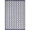 Unique Loom Metro Navy Blue Area Rug