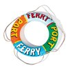 Unique Life Belt Ferry Boat Wall Decor