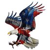 Next Innovations JQ 3D Eagle with American Flag Wall Décor