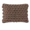 GAN RUGS Trenzas Wool Lumbar Pillow