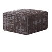 GAN RUGS Canevas Square Abstract Ottoman