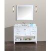 "Ari Kitchen & Bath Emily 48"" Single Bathroom Vanity Set with Mirror"