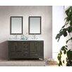 "Ari Kitchen & Bath Jude 60"" Double Bathroom Vanity Set"